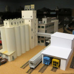 Purina Mills and scratch-built unloading shed.