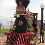 Steam engine that will pull the Lincoln Funeral Train