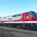 New Amtrak paint scheme Salutes our Veterans