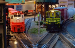 MKT #51 approaches the diamond as SLSF #846 waits for her turn.