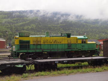 WP&Y #101 - DL-535E with Alco 6-251D prime mover.