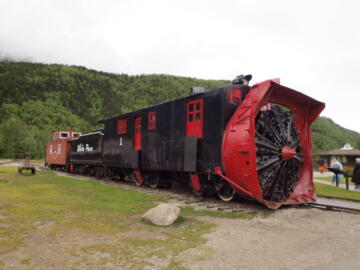 WP&Y Rotary Snow Plow