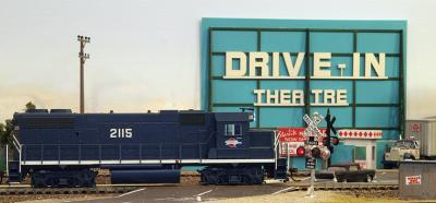 MOP #2115 passes Drive-In