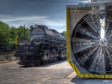 Union Pacific #900081 Rotary Snow Plow