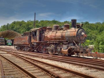 Frisco #3695 - purchased and used by Scullin Steel as #95